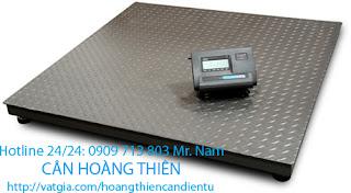 cân sàn điện tử yaohua xk3190 A9 2 tấn