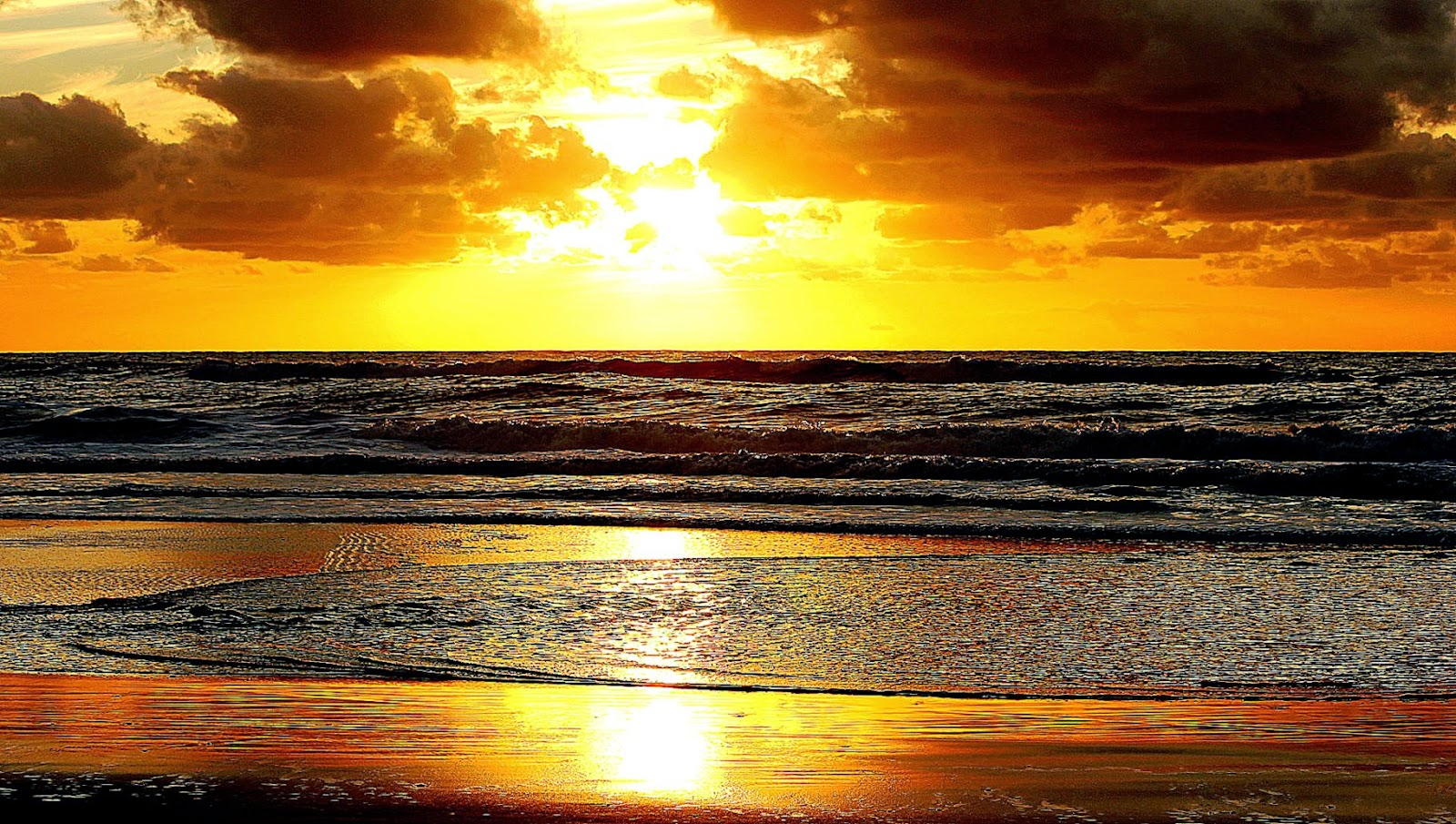 pin golden sunset hd - photo #1