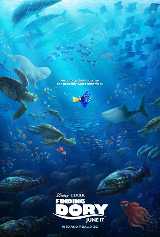 Finding Dory official site