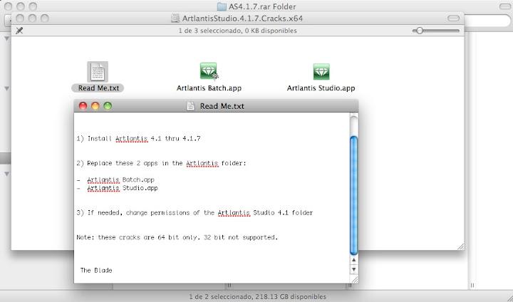 Artlantis 4. 1. 8 crack 64 bits.