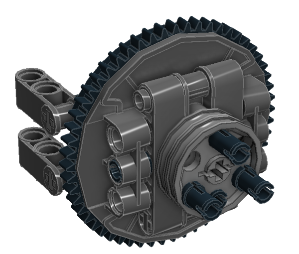 Planetary Geared Wheel 08