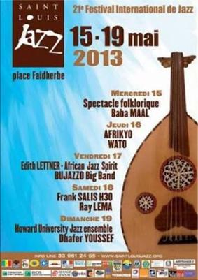 Cartel del XXI Festival de Jazz de St. Louis