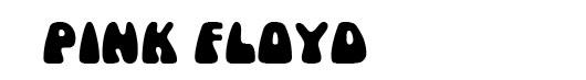 Mama font logo psicodélico Pink Floyd