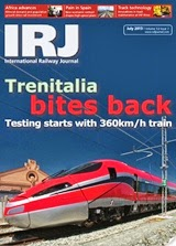 Get your free subscription to International Railway Journal July 2013