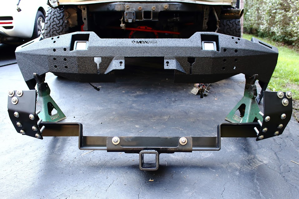 Metal Pasja Front And Rear Bumpers Installation And