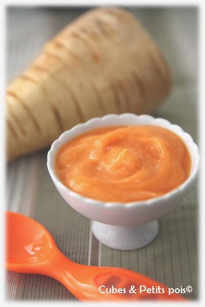 recette bébé soupe carotte panais mascarpone