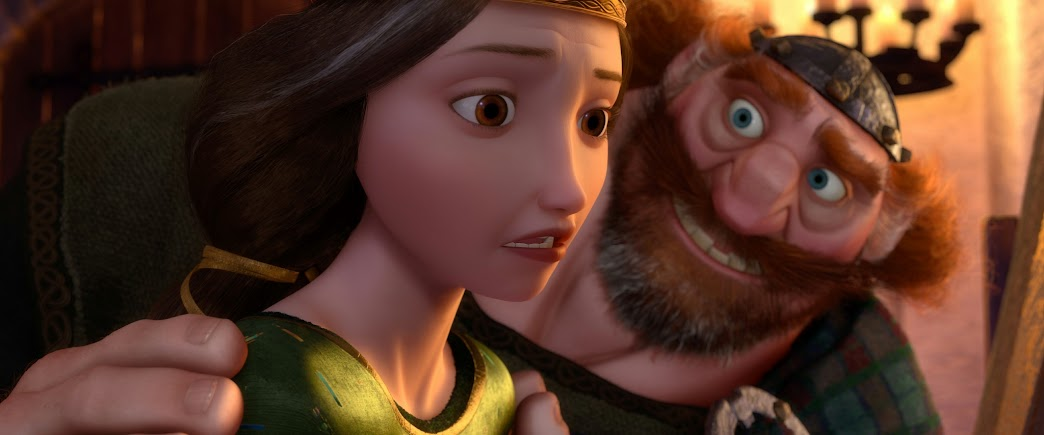 "Disney/Pixar's ""BRAVE"" - Queen Elinor & King Fergus"