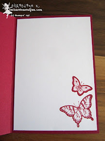 stampin up papillon potpourri