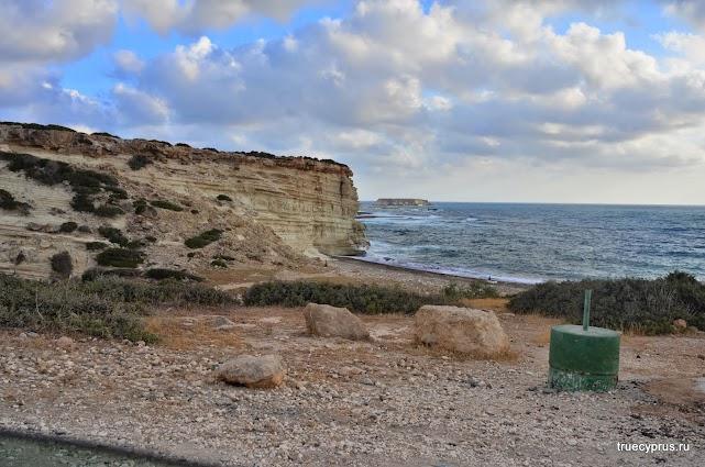 кипр, акамас, пляж лара
