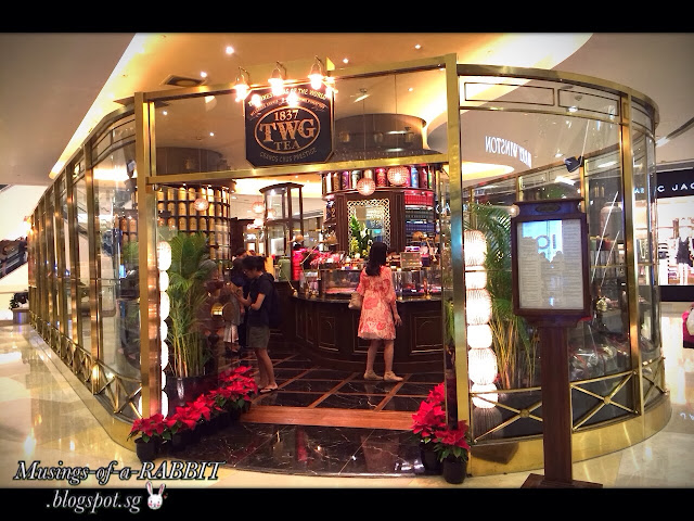 TWG Tea Salon and Boutique at ION Orchard
