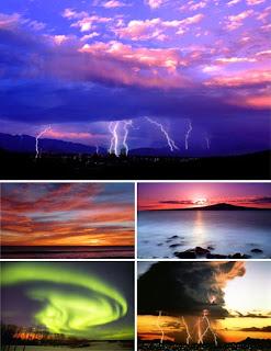 Сила стихии и красота природы