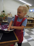 LePort Montessori Preschool Toddler Program Huntington Pier - washing time