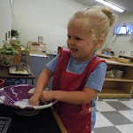LePort Montessori Preschool Toddler Program Huntington Pier - washing time