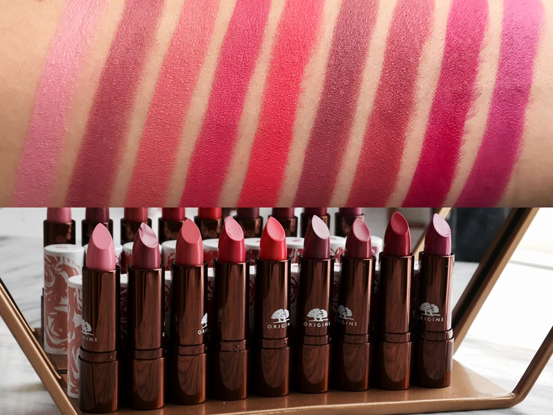 Son Origins Blooming Bold Lipsticks