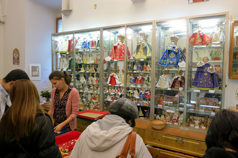 Infant of Prague gift shop