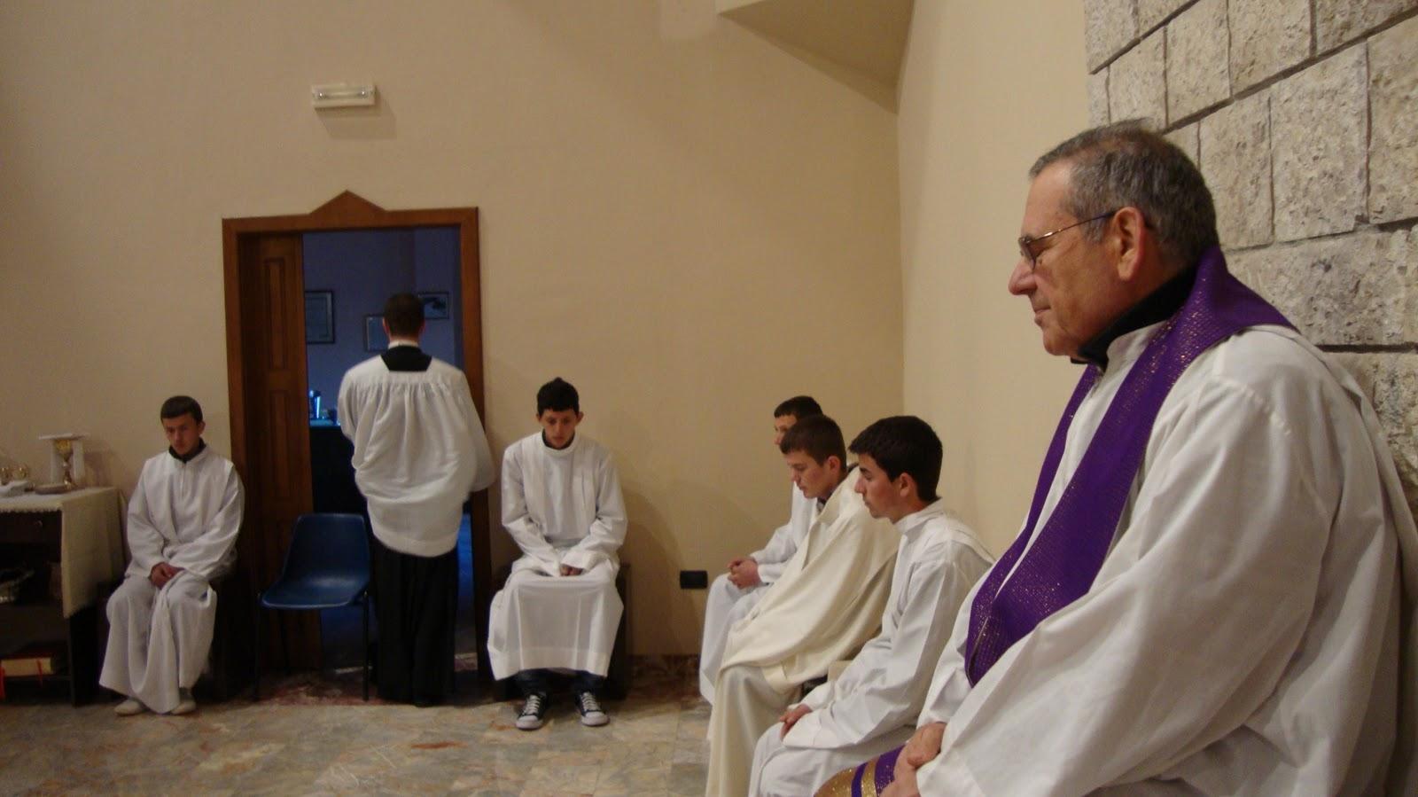 P giacomo con i nostri ragazzi in cattedrale per l 39 inizio for Suggerimenti per la costruzione della propria casa
