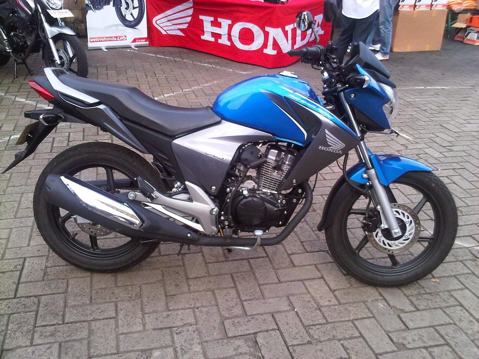 Modifikasi Honda New Megapro Touring