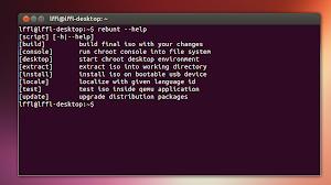 Rebunt in Ubuntu Linux