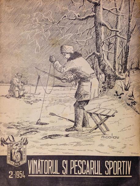 2 – Vanatorul si Pescarul Sportiv – 1954 – Februarie Nr. 2 Anul VI
