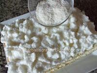 Prajitura cu crema de cocos preparare