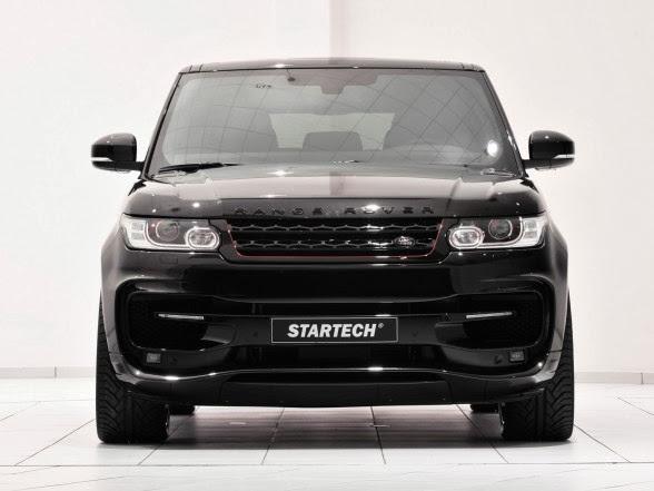 2014 Startech Range Rover Sport - Front