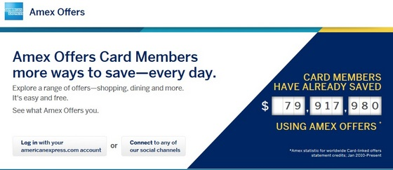 Amex Offers and a $100 Giveaway