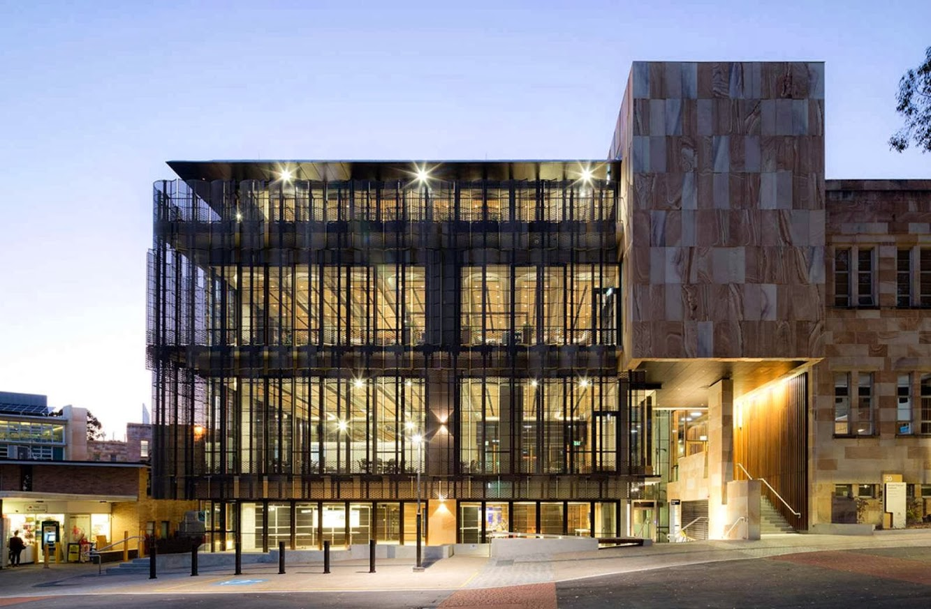 Brisbane Queensland, Australia: University of Queensland Global Change Institute by Hassell