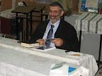 חבר הכנסת מיכאל בן ארי בבית חגלה