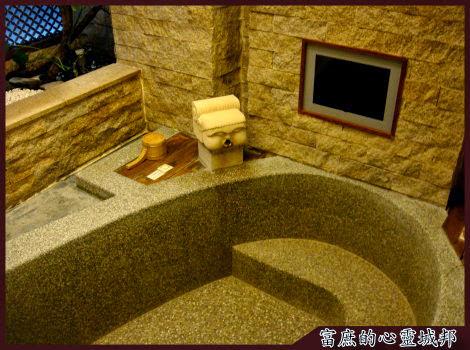 惠來谷關溫泉會館浴池