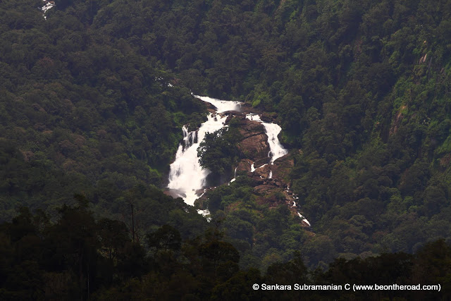 Waterfall that flows from Nirar Dam and into the state of Kerala