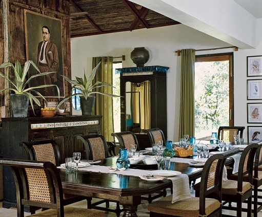 Delightful Colonial Style Safari Camp Near Pench National Park In India (Architectural  Digest)