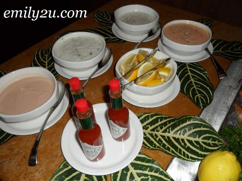 Banjaran sauces