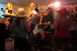 Miranda dances with some girls we've never met