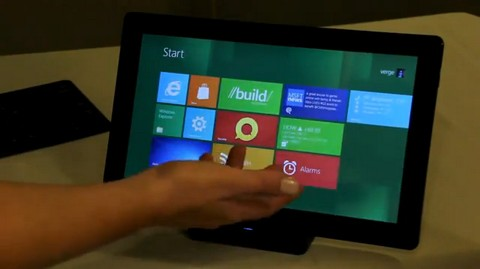 Metro UI of Windows 8