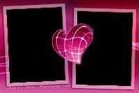 molduras-para-fotos-gratis-coracao-pink-2-fotos