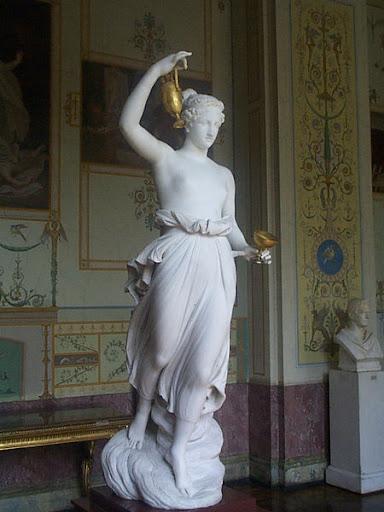 Greek Goddess Hebe Image