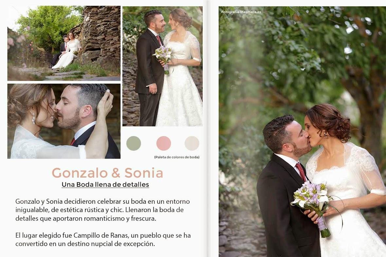 Imágemes de la boda de Gonzalo y Sonia en Campillo de Ranas.