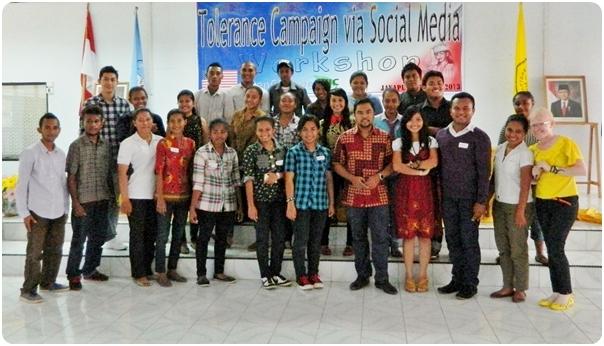 Workshop Kampanye Toleransi Melalui Social Media