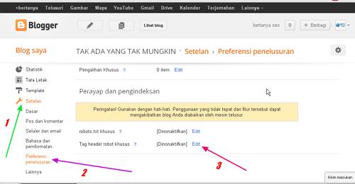 cara mengatasi duplicate content di blogspot
