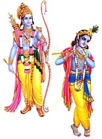 Śrī Rāma & Kṛṣṇa