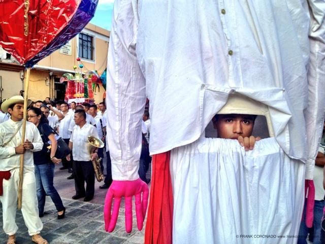 procesion en oaxaca