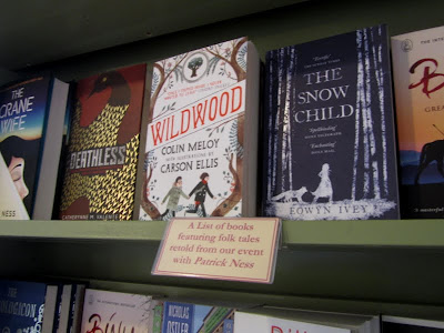 A list of books featuring folk tales retold from our event with Patrick Ness - includes Deathless by Cat Valente, The Snow Child, Wildwood, and Binu and the Great Wall