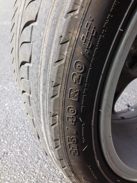 Land Rover Ranger Sport Tire Woes Inner Tire Wear