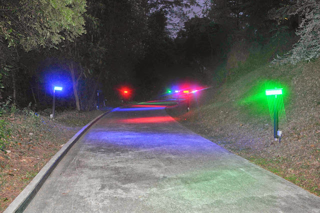 RGB%2520LED%2520Lighting%2520on%2520Jungle%2520Trail The Skyline Luge Adventure {Review & Giveaway}