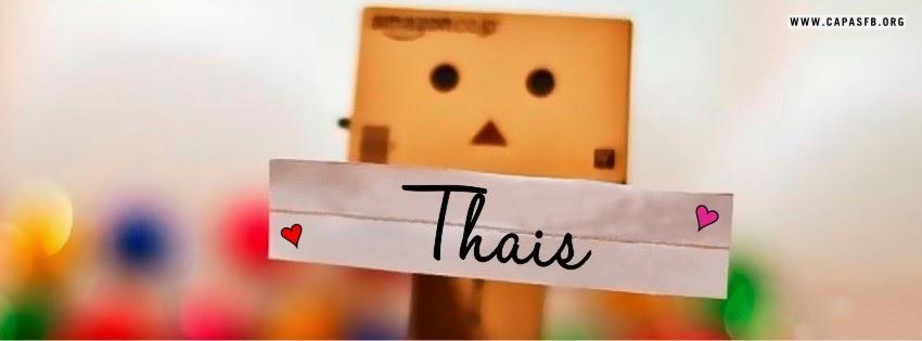 Capas para Facebook Thais