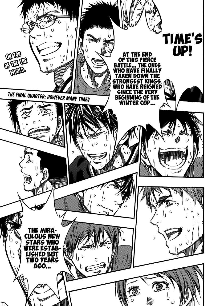 Kuroko no Basket Manga Chapter 275 - Image 02