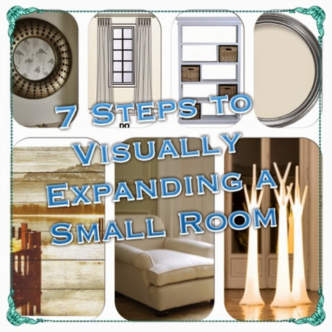 7 Steps to Visually Expanding A Small Room - How To Make a Small Room Look Bigger