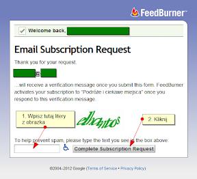 powiadomienia email - instrukcja 1