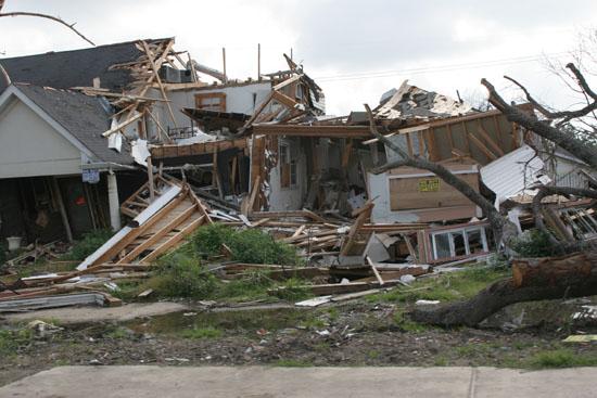 """Ураган """"Катрина"""", Новый Орлеан, 2007"""
