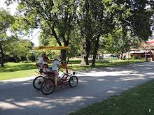samohyb v parku prater